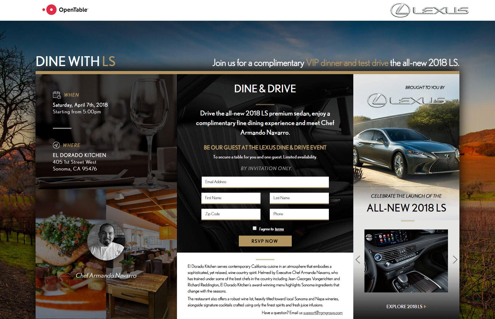 Lexus Dine With Us